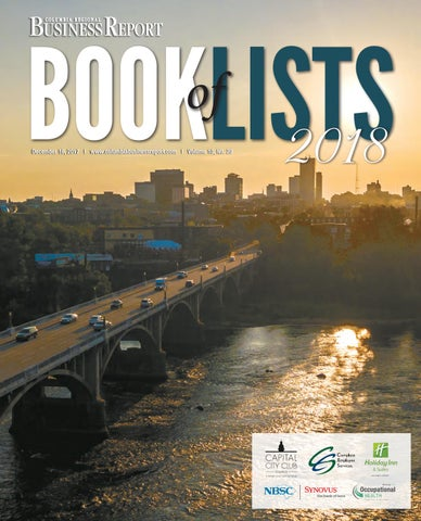 2018 Columbia Book of Lists by SC BIZ News - issuu