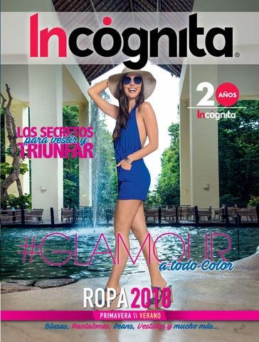 d76b76552a9 CATÁLOGO ROPA PRIMAVERA VERANO 2018 by Incognita Mexico - issuu