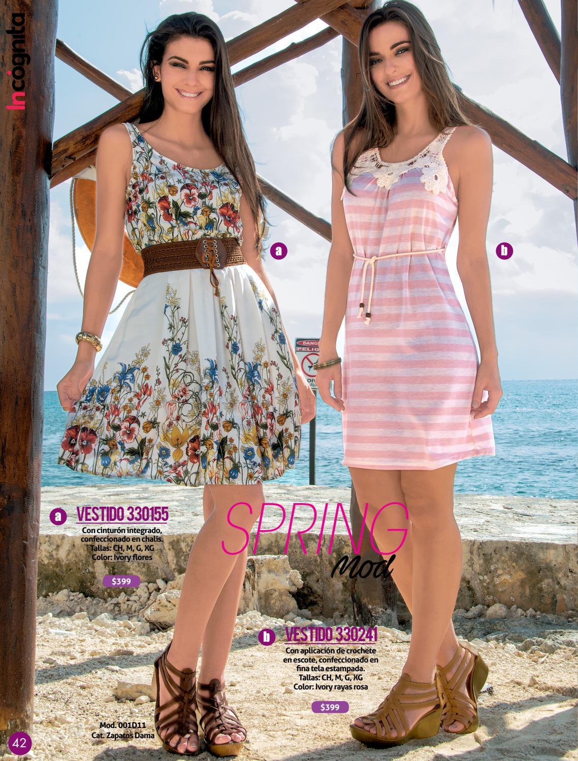 Vestidos de verano en tela chalis