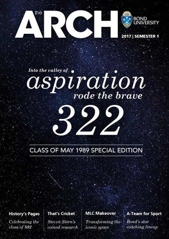 The ARCH Magazine | Issue 18 | 2017 Semester 1 by Bond University