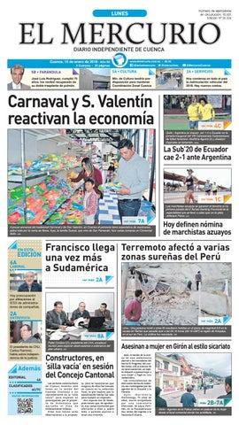 47cf8f89b hemeroteca 15-01-2018 by Diario El Mercurio Cuenca - issuu