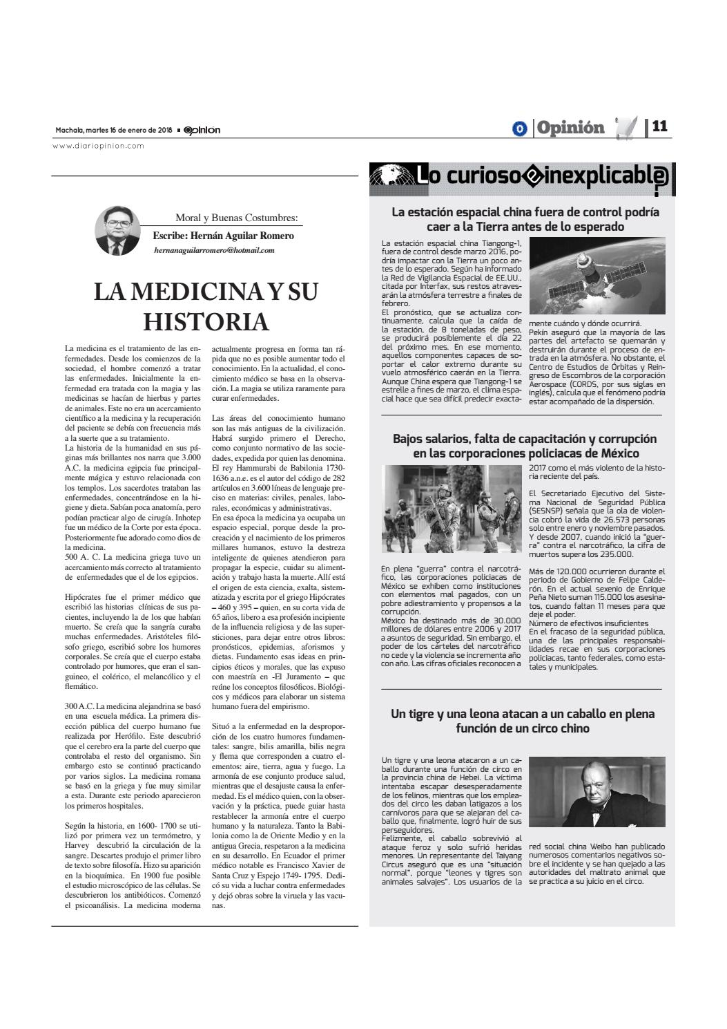 Impreso 16 01 18 by Diario Opinion - issuu