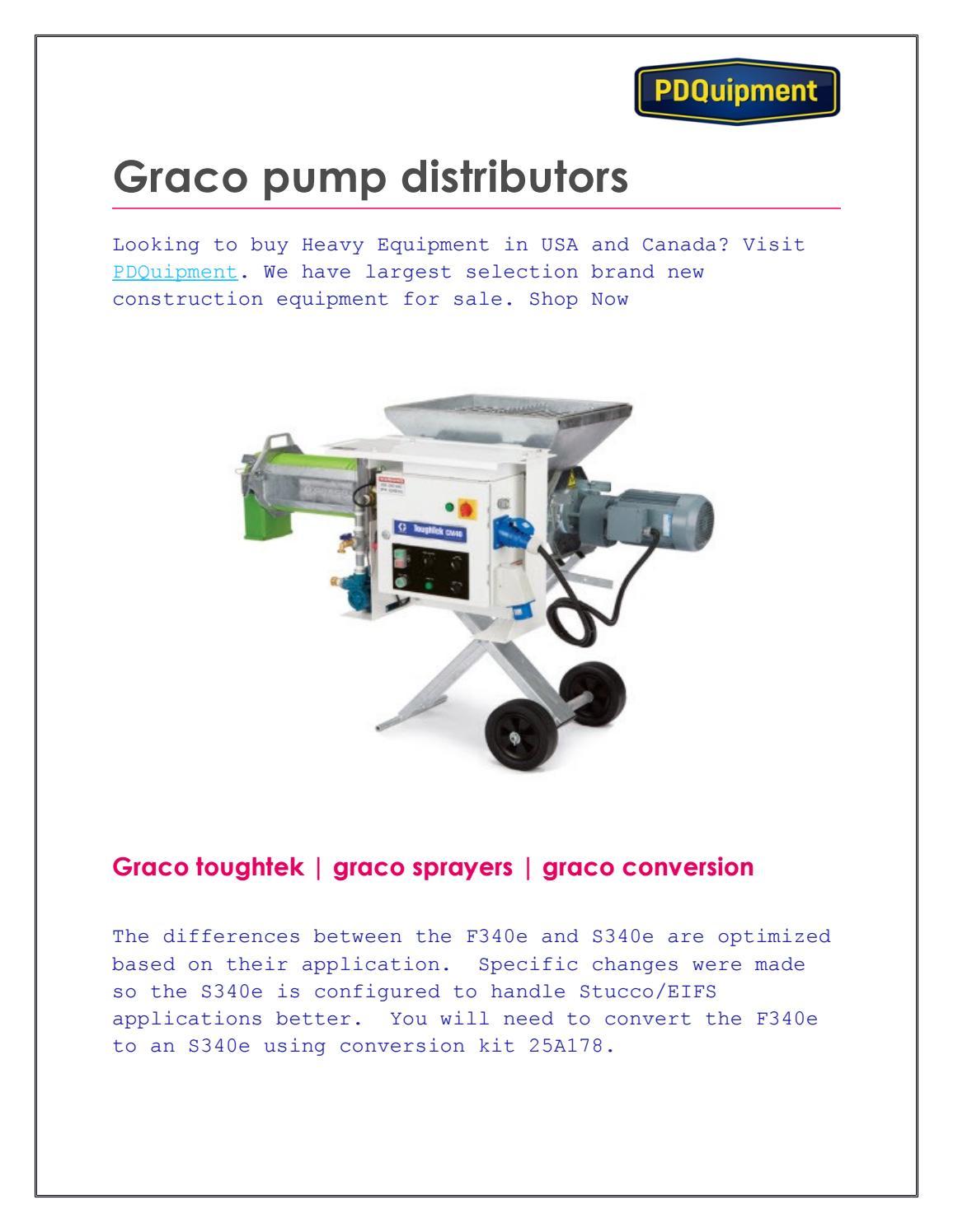 Graco pump distributors by isabella jones - issuu