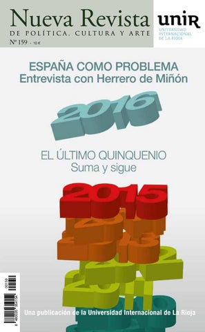 830eefb8fbb9 Nueva Revista 159 by NuevaRevista - issuu