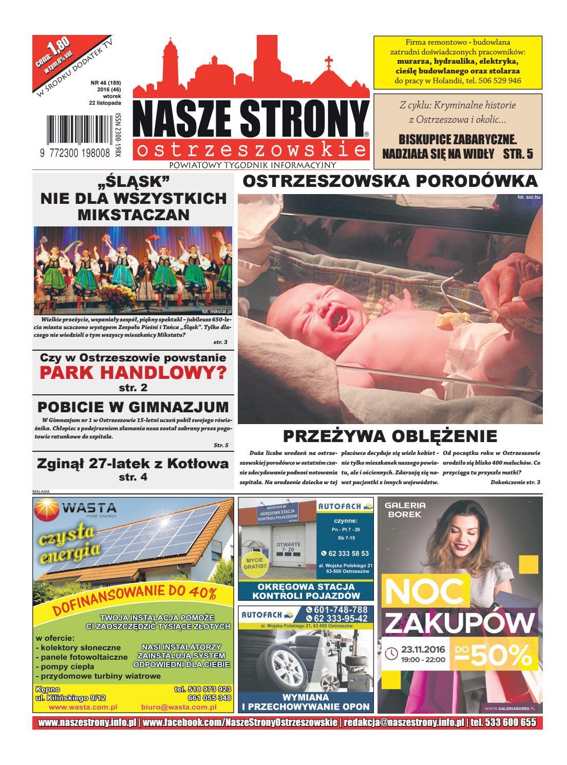 Burmistrz Cega dba o gmin - Nasze Strony Ostrzeszowskie