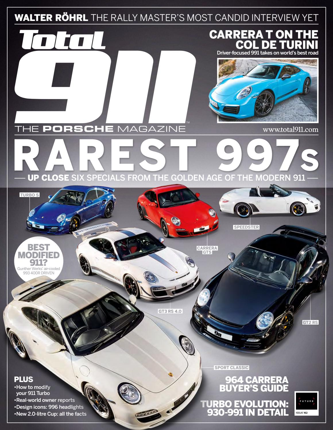 Total 911 162 (Sampler) by Future PLC - issuu