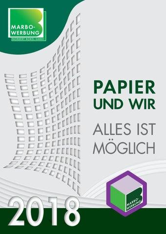 Marbo Werbung N.Bokel GmbH Katalog 2018 by Marbo - issuu