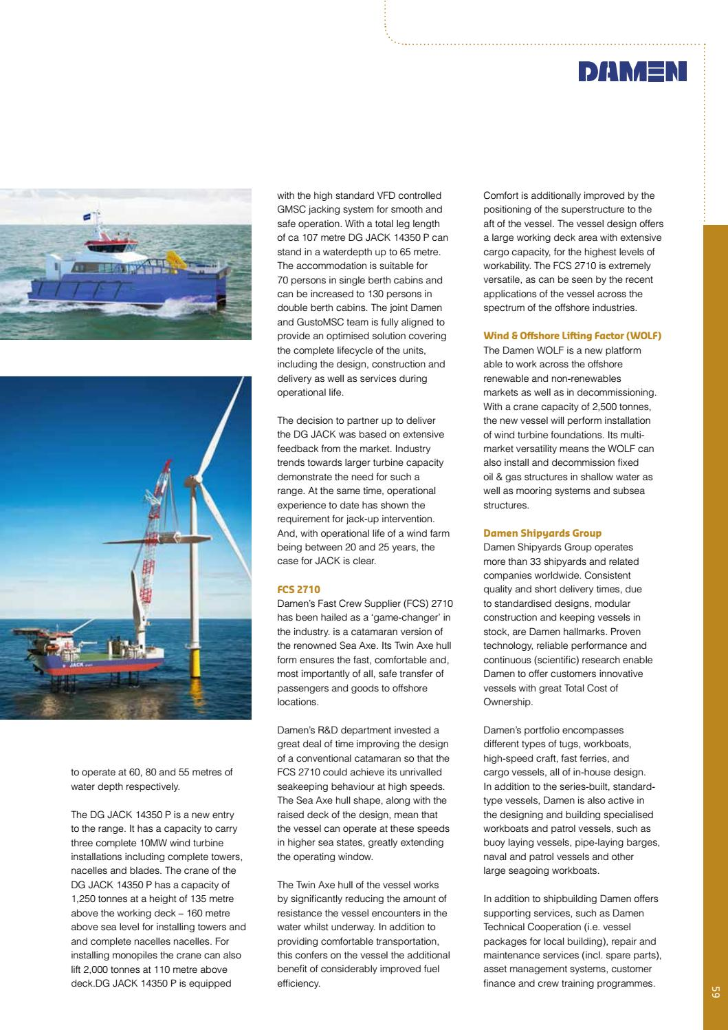 Offshore Wind International Business Guide 2018 By Navingo Bv Issuu Addition Power Plant Schematic Diagram In Homemade