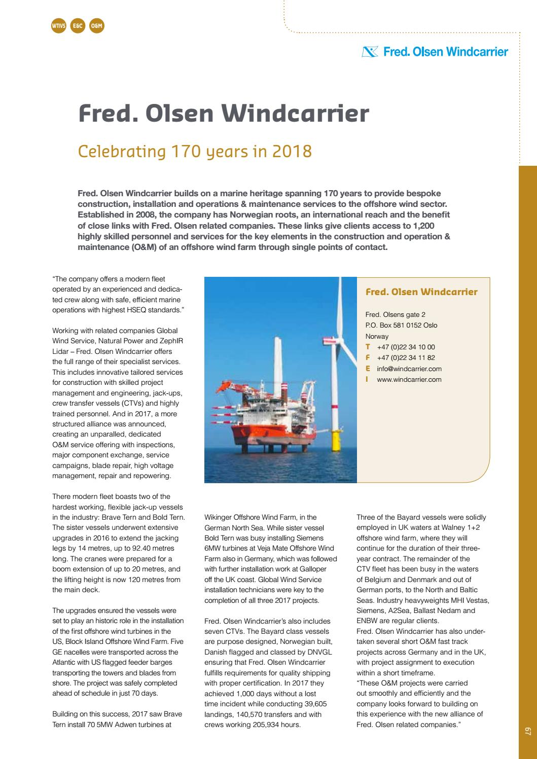 Offshore WIND International Business Guide 2018 By Navingo BV