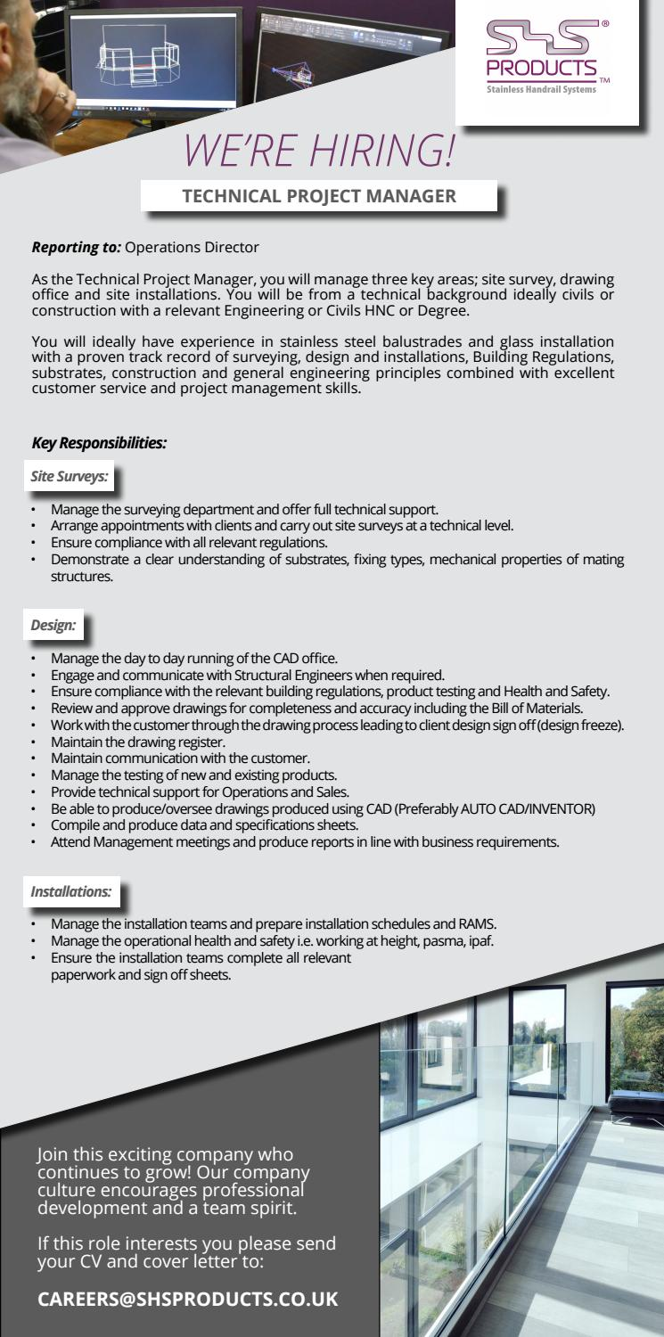 project manager cover letter sample project manager