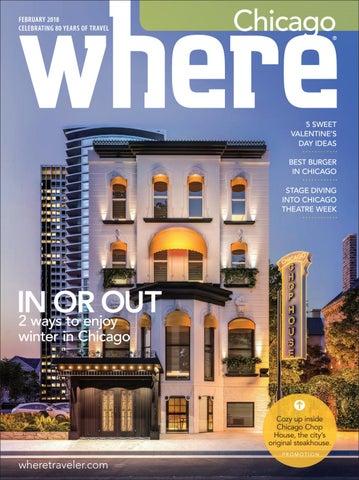 Where Magazine Chicago Feb 2018 by Morris Media Network - issuu