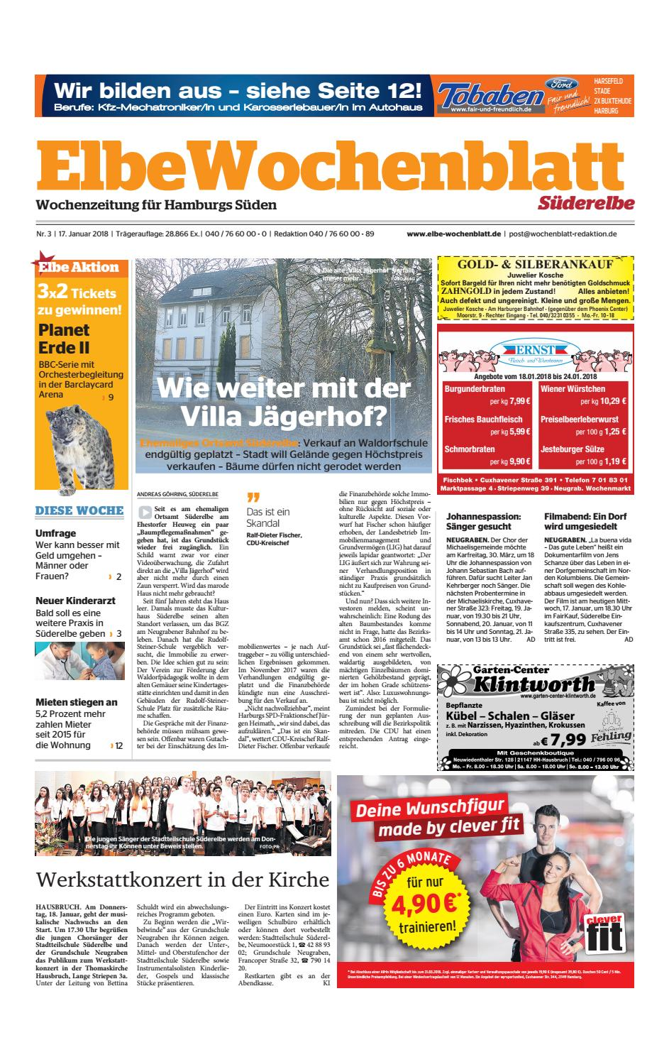 Süderelbe KW03 2018 by Elbe Wochenblatt Verlagsgesellschaft mbH & Co KG issuu