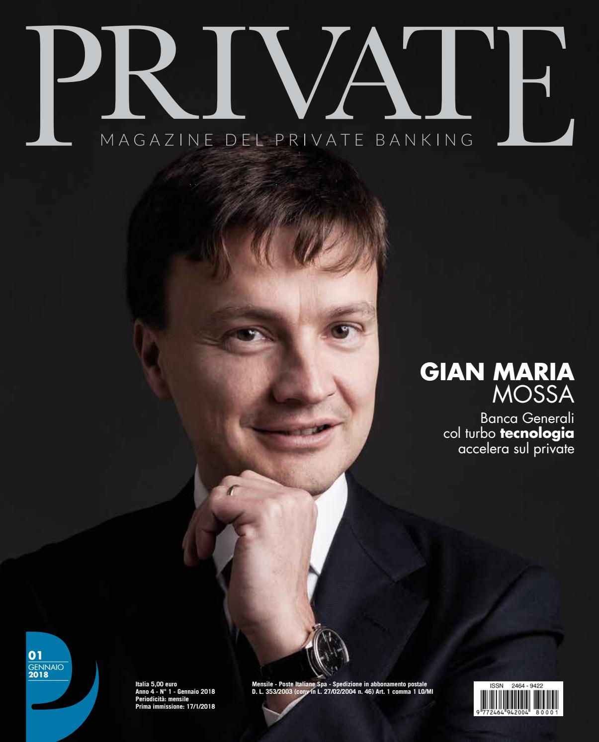 53561dd3d0 PRIVATE 01 - GIAN MARIA MOSSA by Blue Financial Communication - issuu