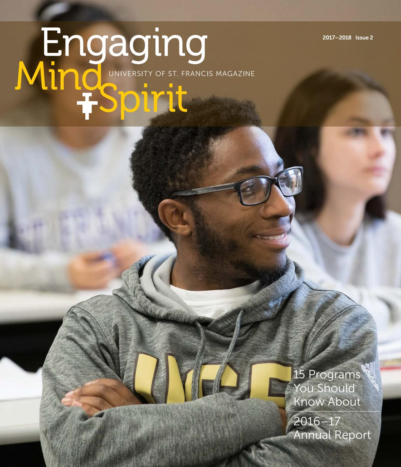 d84fb828bc3 Engaging Mind   Spirit by University of St. Francis - issuu