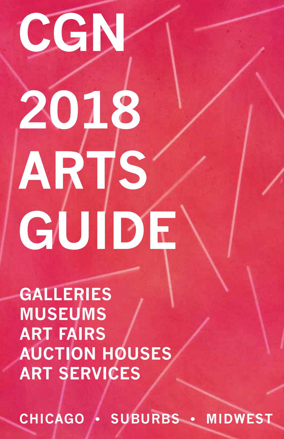 CGN 2018 Arts Guide by Chicago Gallery News - issuu