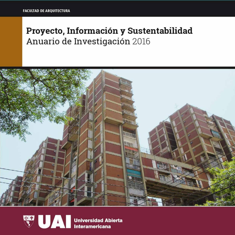Anuario 2016 uai arq web by CAEAU - issuu