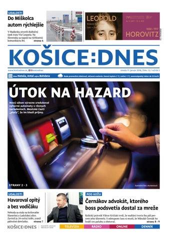 a34cc18f784e KOŠICE DNES 17.1.2018 by KOŠICE DNES - issuu