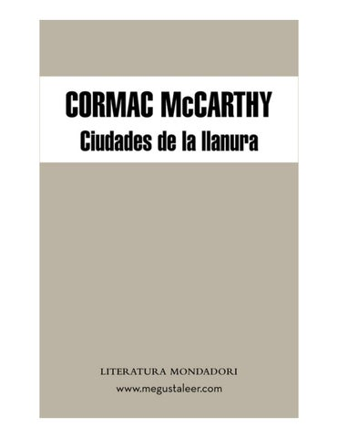 206592659 mccarthy cormac 3 ciudades de la llanura by win 2018 - issuu 66ee78c3b4f