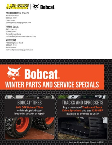 Bobcat Winter Parts and Service Specials by Mid-State Equipment - issuu