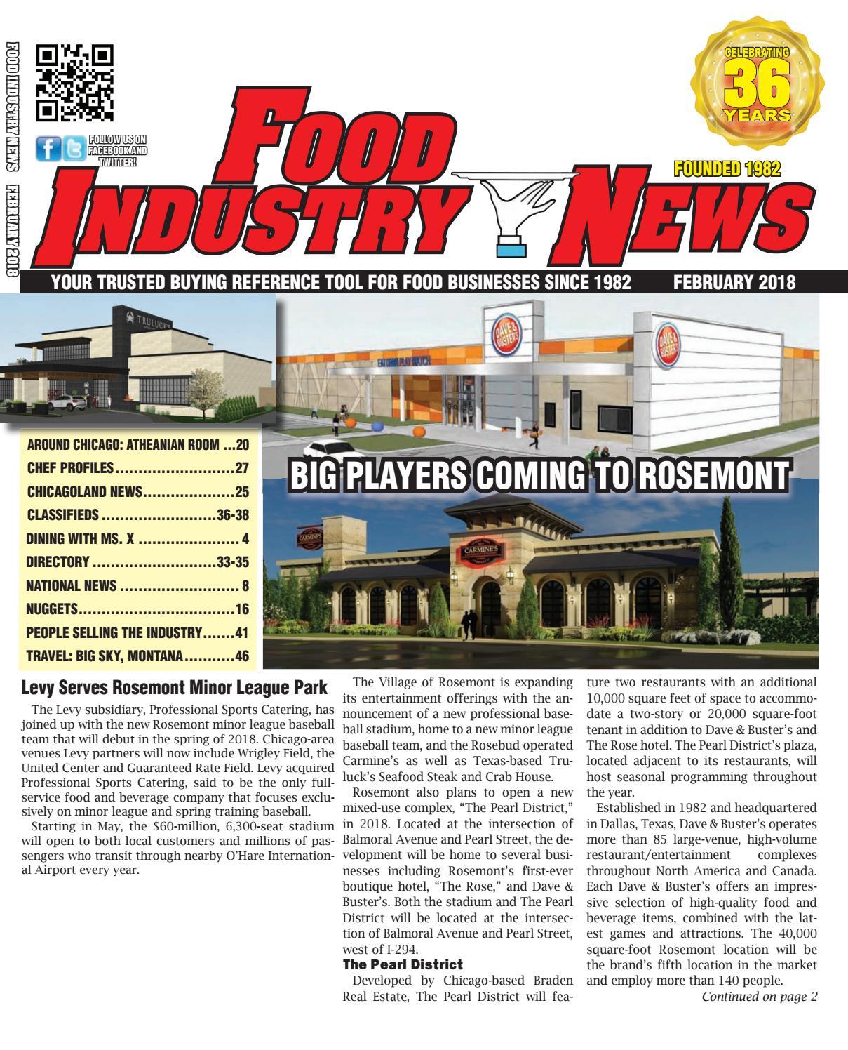 February 2018 fin web edition by FoodIndustryNews issuu
