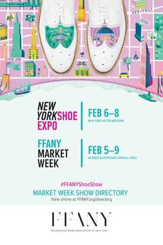 350e634ae800 FFANY New York Shoe Expo   Market Week Directory  Feb 6-8