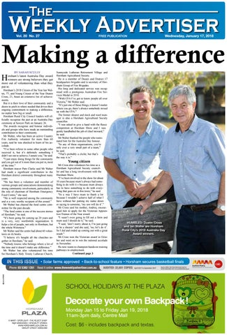 b913d61642 The Weekly Advertiser - Wednesday, January 17, 2017 by The Weekly ...