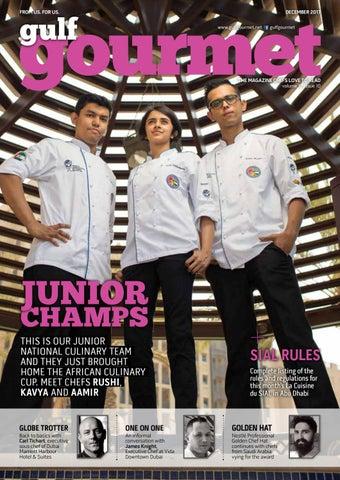 dc2a72c3e1 December 2017 by Gulf Gourmet magazine - issuu