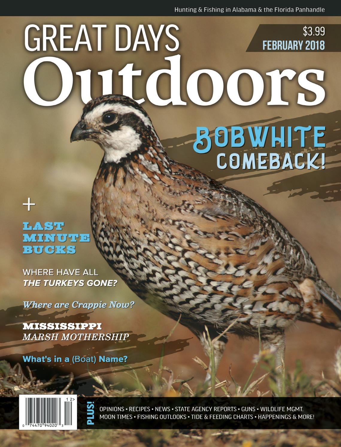 66e59bbdb Great Days Outdoors - February 2018 by TrendSouth Media - issuu