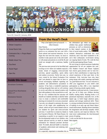 Newsletter 1st Term 2017-2018 by Beaconhouse - issuu
