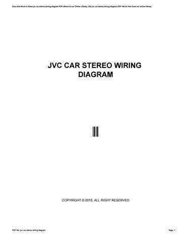 Jvc Car Radio Wiring Diagram from image.isu.pub