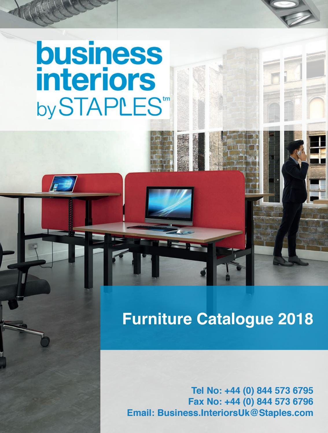 Furniture Catalogue 2018 by Staples issuu