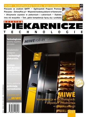 b392097a20043b Piekarnicze technologie 2013 by Womat - media czasopisma dla ...