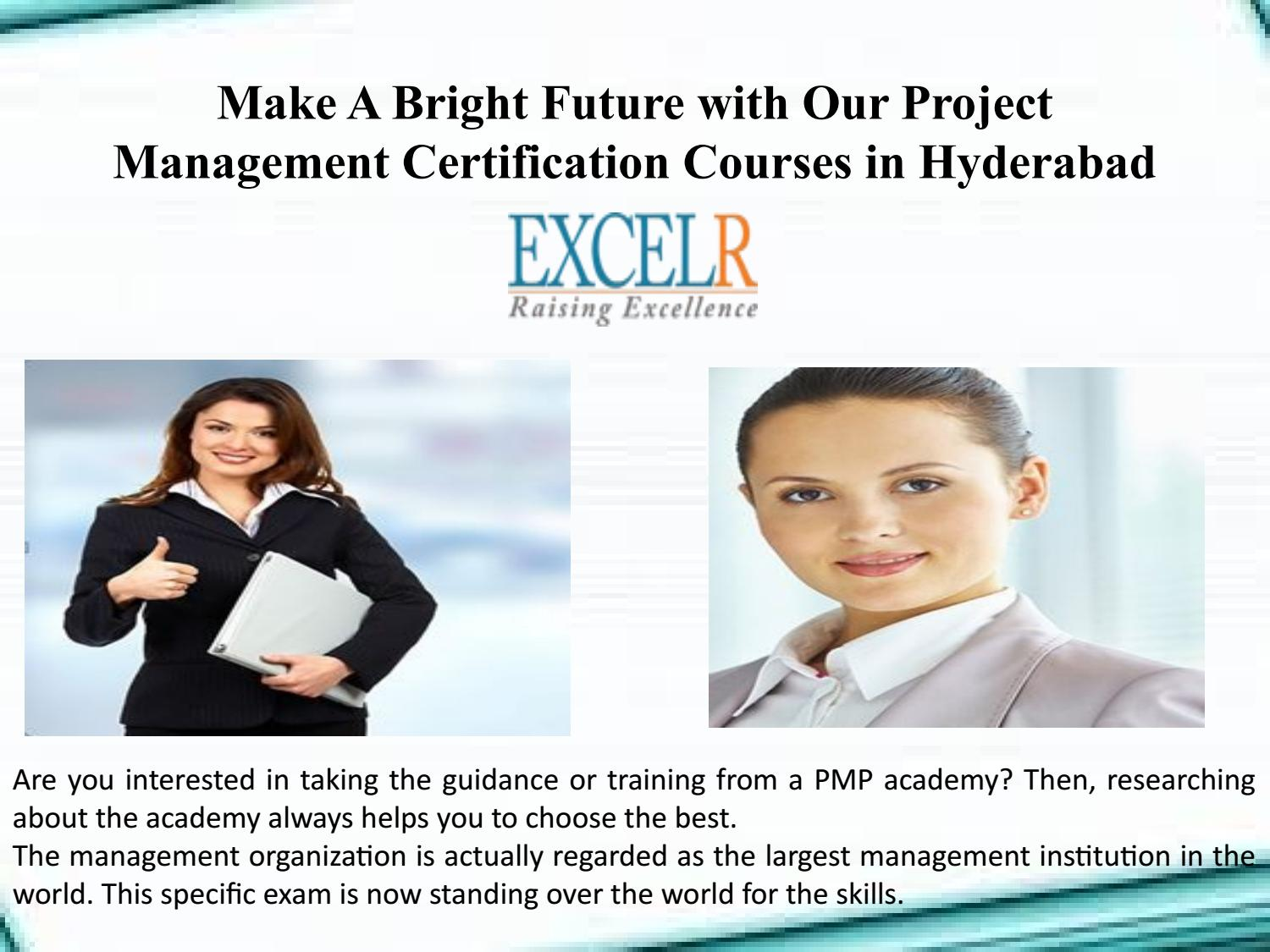 Make A Bright Future With Our Project Management Certification