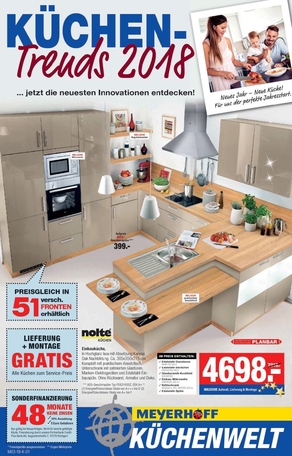Küchentrends Katalog Meyerhoff gültig bis 03.02 by nldm - issuu