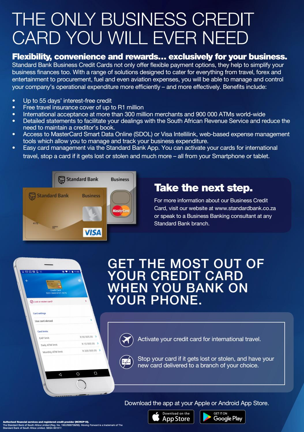 Best Standard Bank Business Credit Card Pictures Inspiration ...