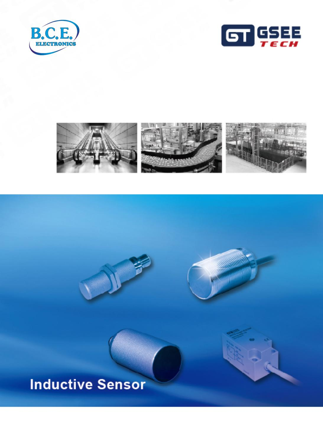 GSEE TECH Inductive Sensor - BCE by B.C.E. S.r.l. - issuu