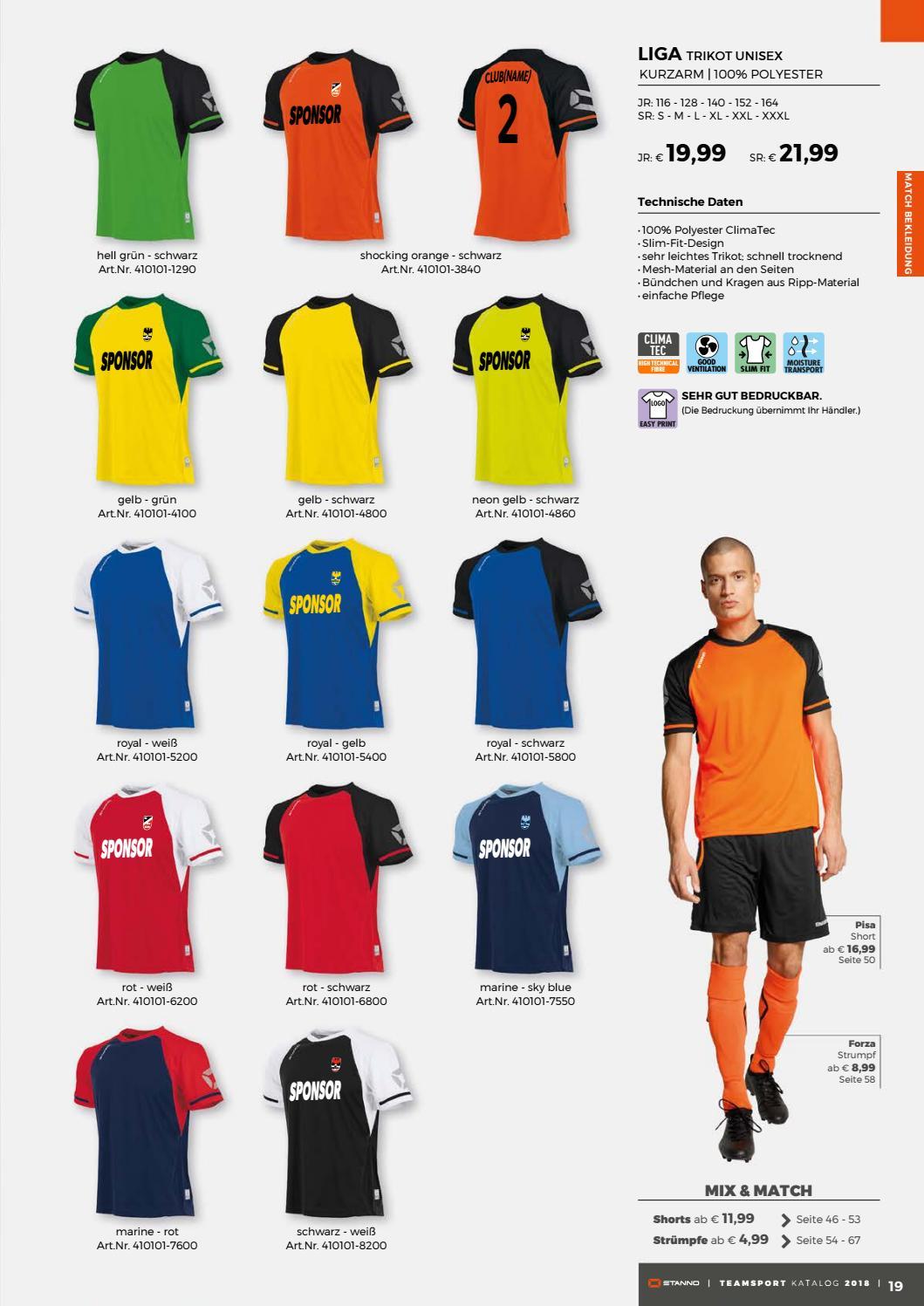 Stanno teamsports catalogue 2018 de by Deventrade BV issuu