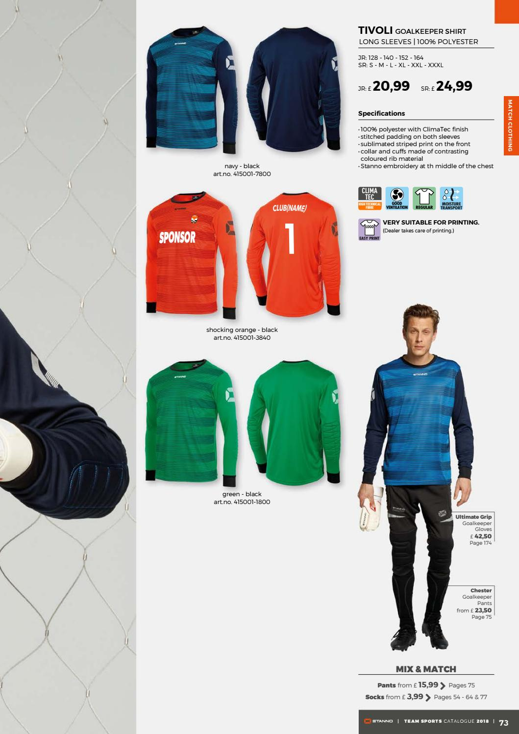 87729ff86ad Stanno teamsports catalogue 2018 uk by Deventrade BV - issuu