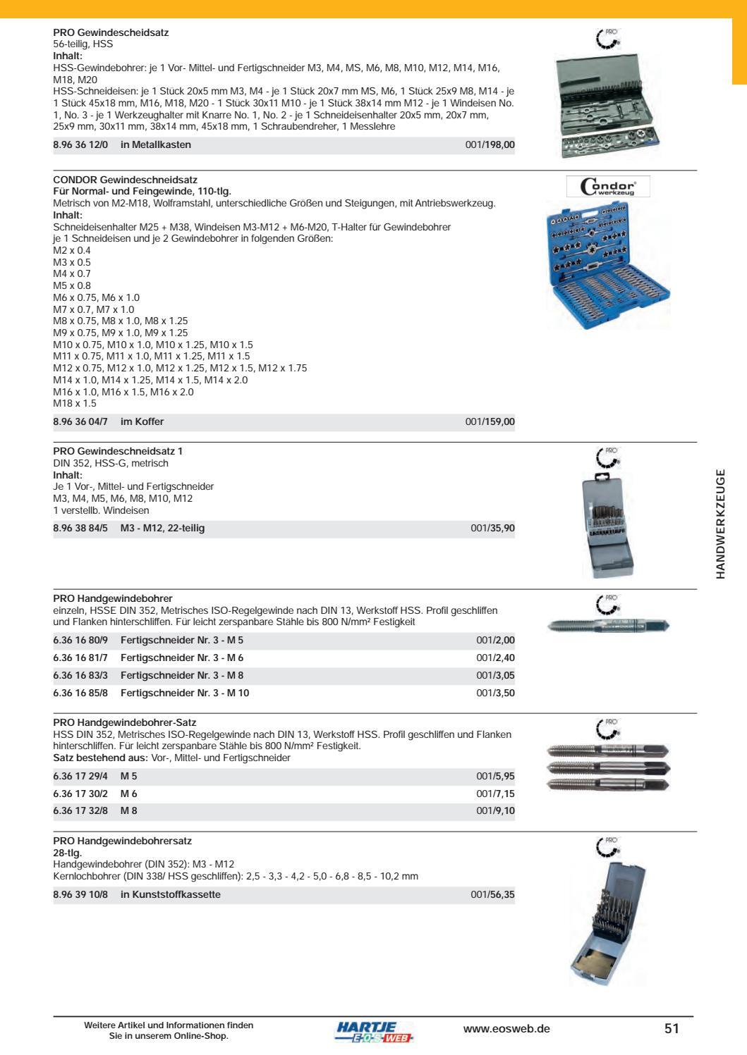 9-tlg Gewindeschneidsatz Schneideisen DIN 223 DIN 225 M3 M4 M5 M6 M7 M8 M10 M12