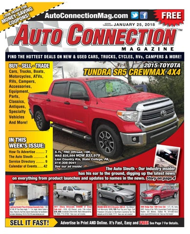 01-25-18 Auto Connection Magazine by Auto Connection