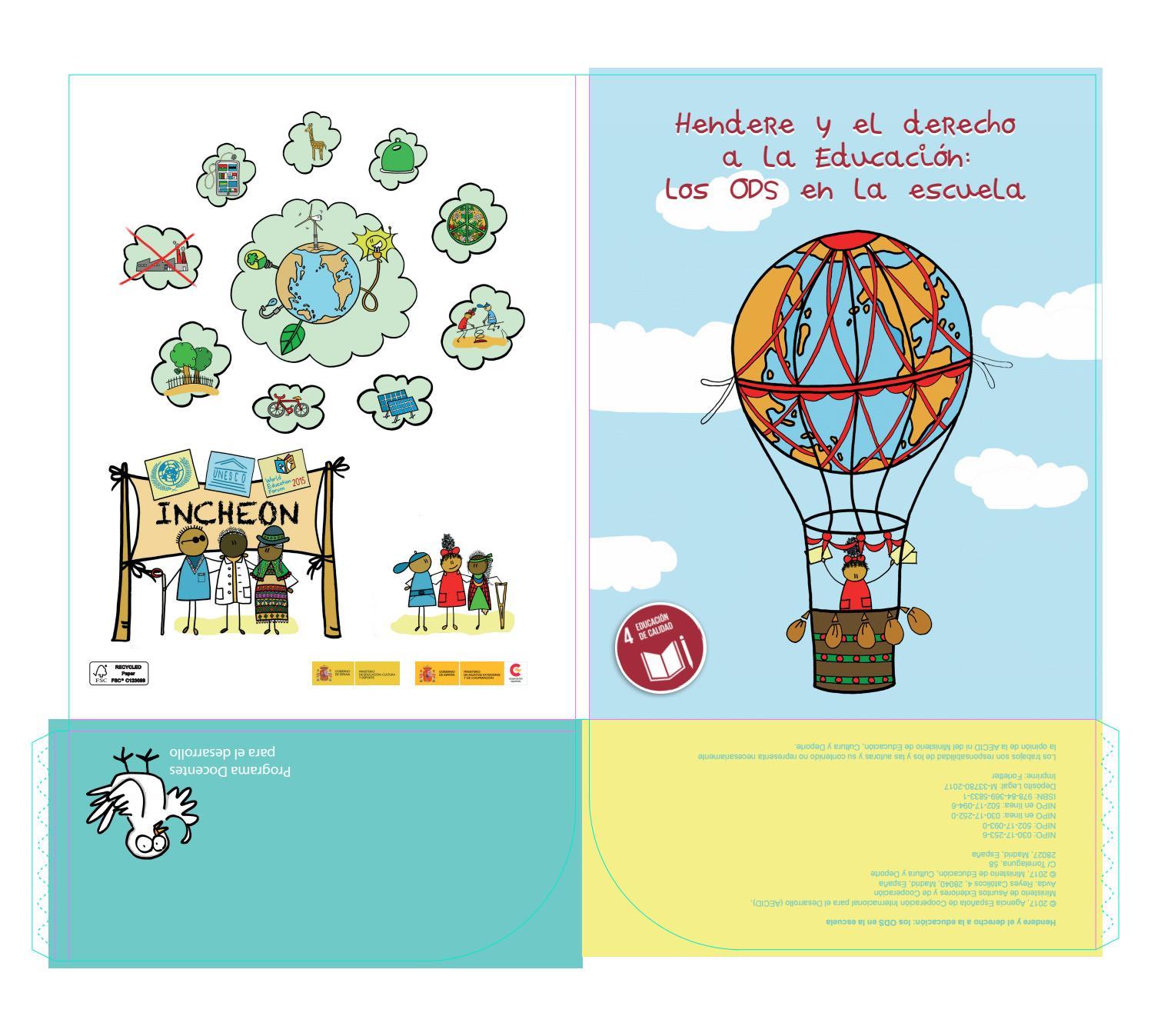Hendere y del derecho a la educación: los ODS en al escuela by Docentes  para el Desarrollo - issuu