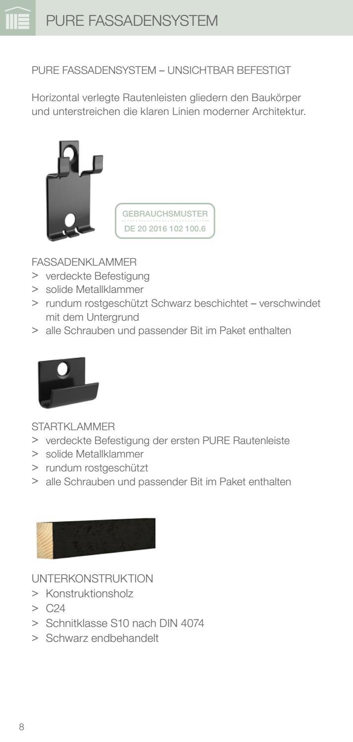 Osmo fassade pure by Kaiser Design - issuu
