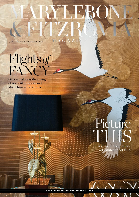Marylebone & Fitzrovia Magazine January 2018 by Runwild