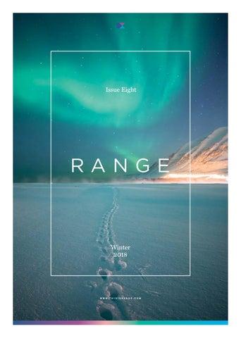5a15937f11c RANGE Magazine by RANGE - issuu