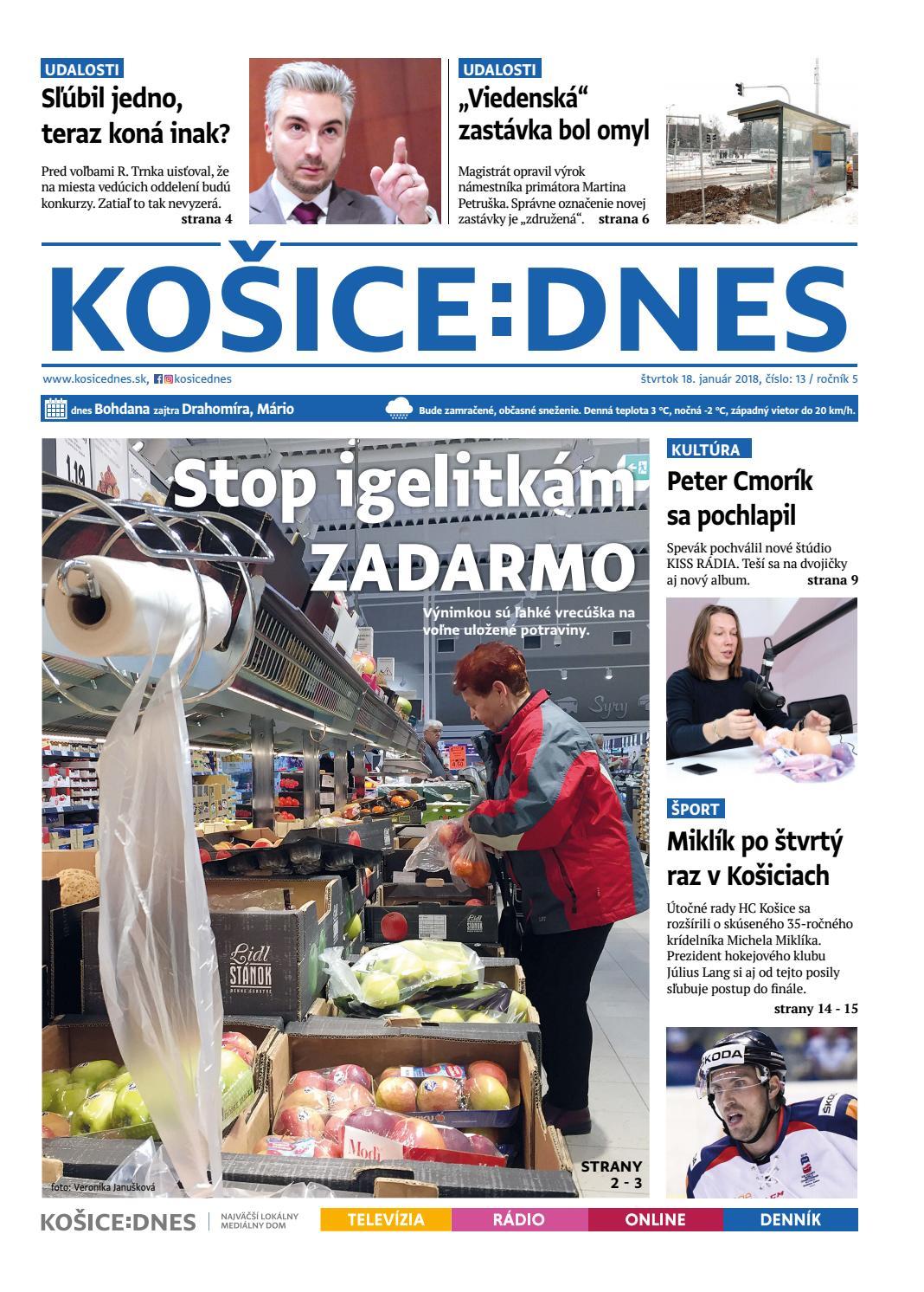 1dcbc6f05 KOŠICE:DNES 18.1.2018 by KOŠICE:DNES - issuu