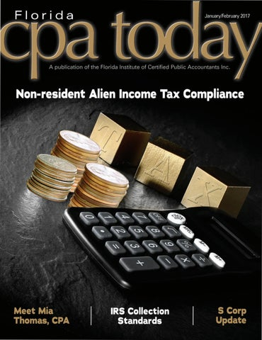 January/February 2017 - Florida CPA Today | Volume 32
