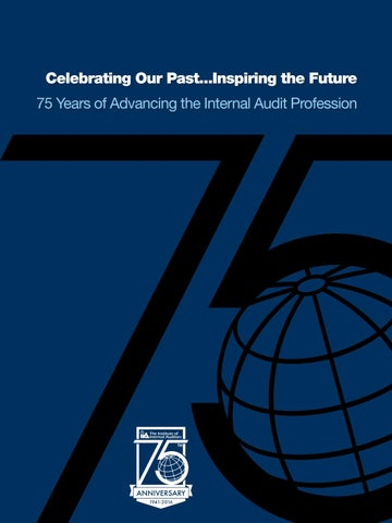 Institute of internal auditors by bookhouse group issuu inspiring the future 75 years of advancing the internal audit profession fandeluxe Gallery