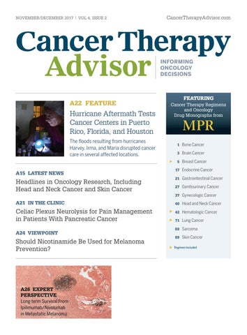 Cancer Therapy Advisor November December 2017 Issue by Haymarket ... cc615ad18e81