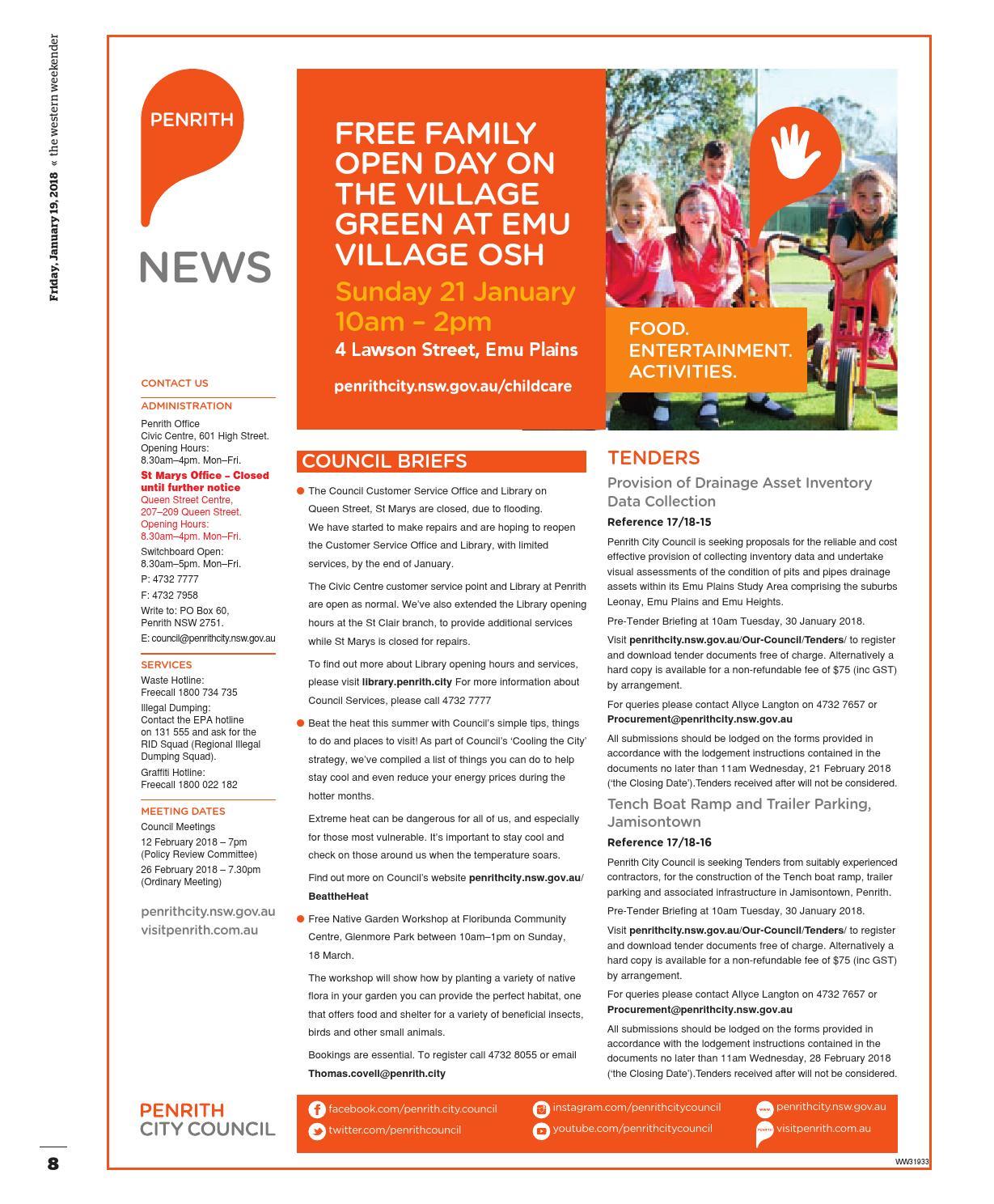 Western Weekender January 19 by Western Sydney Publishing Group - issuu