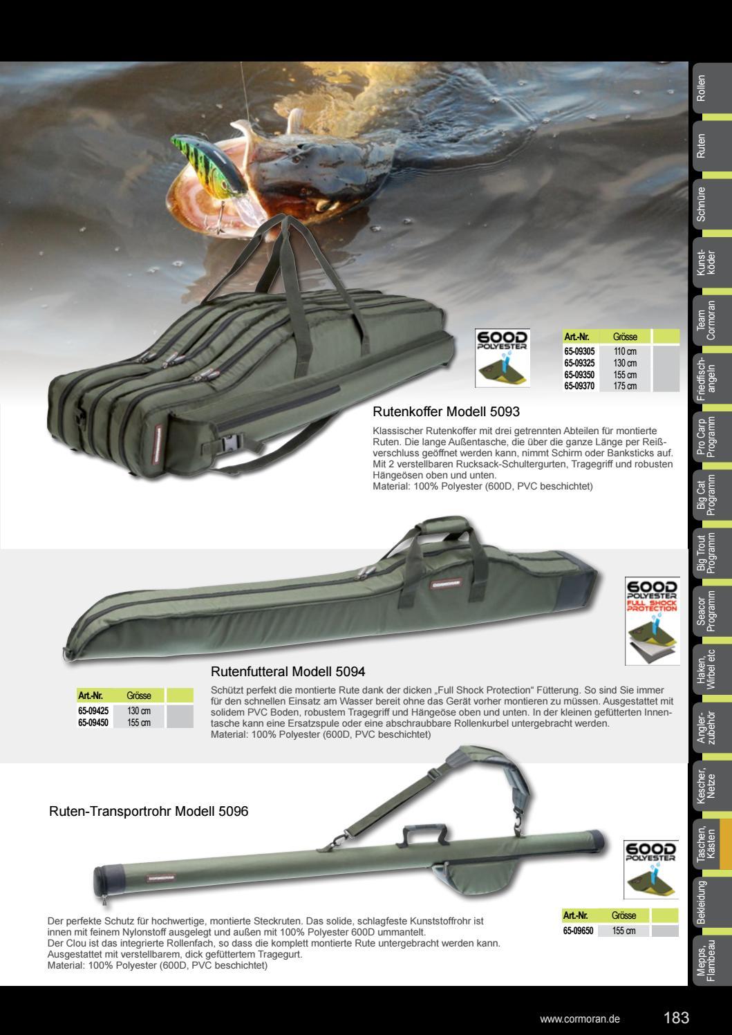 Modell 5094 130cm Cormoran Rutenfutteral